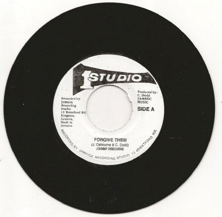 Johnny Osbourne - Forgive Them / version (Studio One) JA 7""